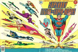 SUPERBOY AND THE LEGION OF SUPER-HEROES TREASURY #1