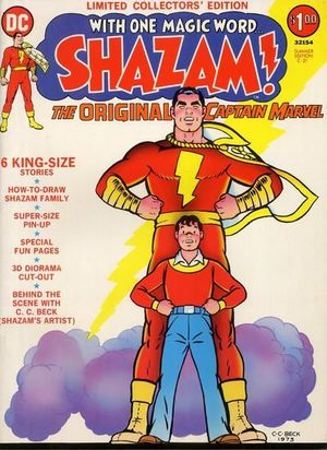 SHAZAM DC TREASURY EDITION (1973)  #C-21