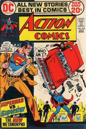 ACTION COMICS (1938 DC) #414
