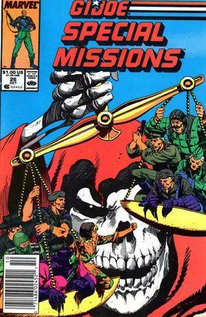 GI JOE SPECIAL MISSIONS (1986) #26