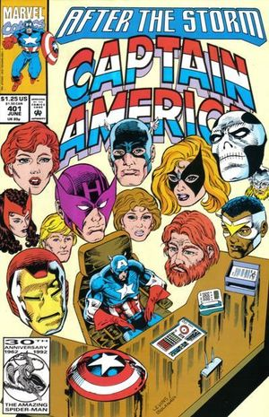 CAPTAIN AMERICA (1968 1ST SERIES) #401