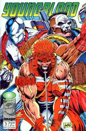 YOUNGBLOOD (1992 1ST SERIES) #3