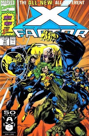 X-FACTOR (1986 1ST SERIES) #71