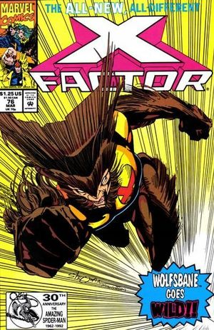 X-FACTOR (1986 1ST SERIES) #76