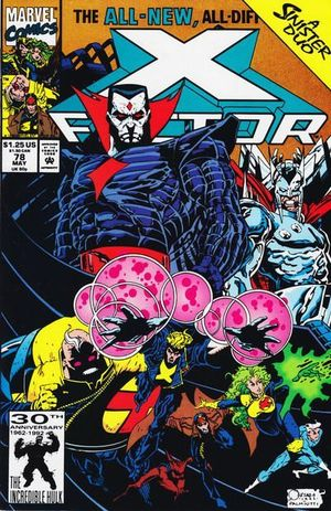 X-FACTOR (1986 1ST SERIES) #78
