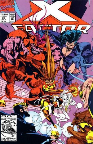 X-FACTOR (1986 1ST SERIES) #80