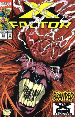 X-FACTOR (1986 1ST SERIES) #89
