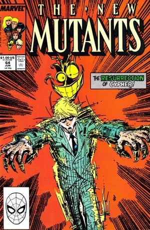 NEW MUTANTS (1983 1ST SERIES) #64
