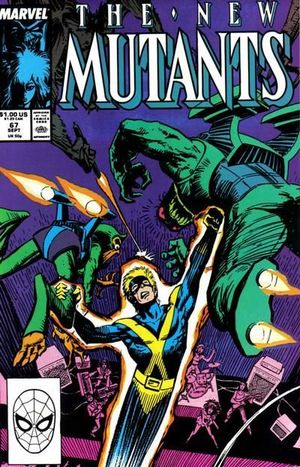 NEW MUTANTS (1983 1ST SERIES) #67