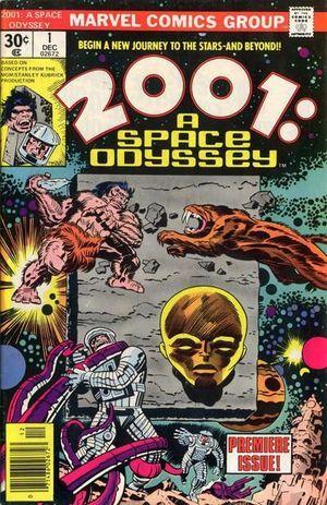 2001 A SPACE ODYSSEY (1976) #1-10