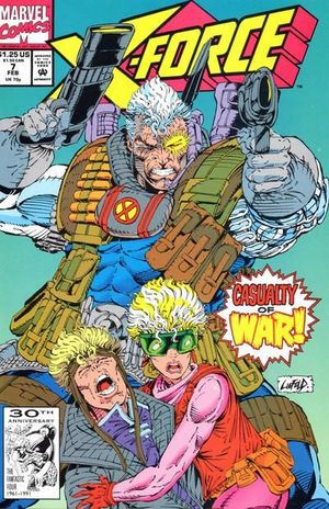 X-FORCE (1991 1ST SERIES) #7