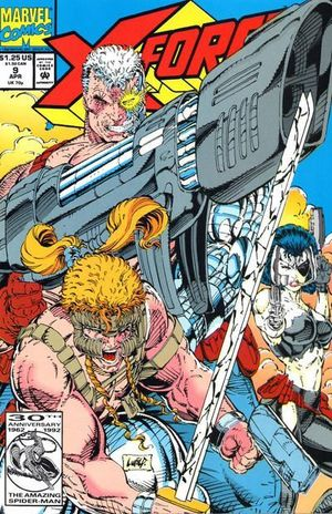 X-FORCE (1991 1ST SERIES) #9