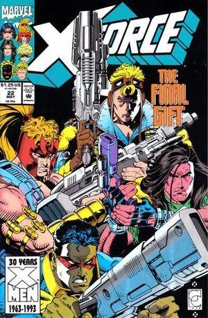 X-FORCE (1991 1ST SERIES) #22