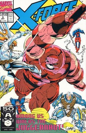 X-FORCE (1991 1ST SERIES) #3