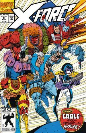 X-FORCE (1991 1ST SERIES) #8