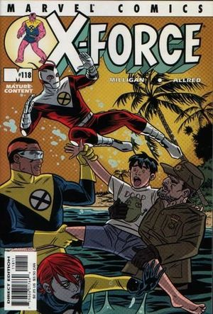X-FORCE (1991 1ST SERIES) #118