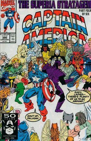 CAPTAIN AMERICA (1968 1ST SERIES) #390