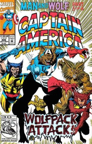 CAPTAIN AMERICA (1968 1ST SERIES) #406