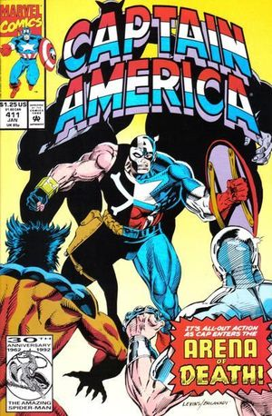 CAPTAIN AMERICA (1968 1ST SERIES) #411