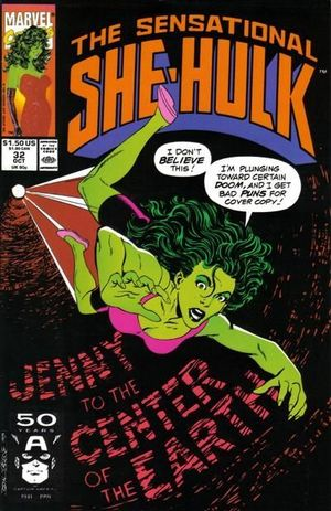 SENSATIONAL SHE-HULK (1989) #32