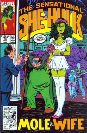 SENSATIONAL SHE-HULK (1989) #33