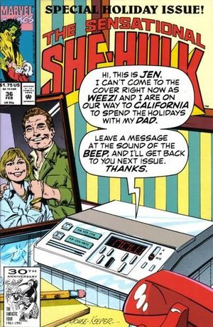 SENSATIONAL SHE-HULK (1989) #36