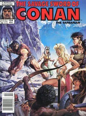 SAVAGE SWORD OF CONAN (1974) #154