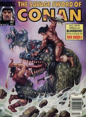 SAVAGE SWORD OF CONAN (1974) #187