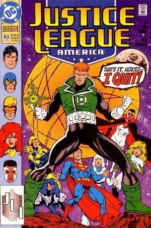 JUSTICE LEAGUE AMERICA (1987) #63