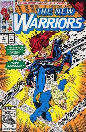 NEW WARRIORS (1990 1ST SERIES) #27
