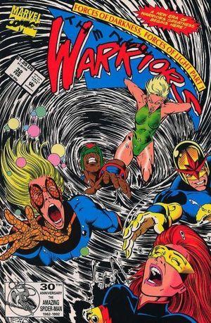 NEW WARRIORS (1990 1ST SERIES) #32