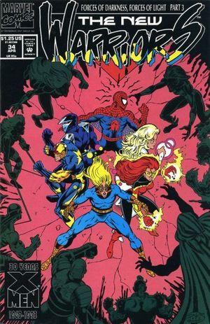 NEW WARRIORS (1990 1ST SERIES) #34