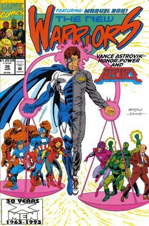 NEW WARRIORS (1990 1ST SERIES) #36