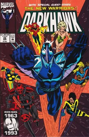 DARKHAWK (1991) #26