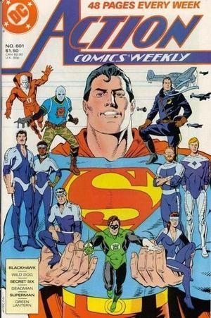 ACTION COMICS (1938 DC) #601