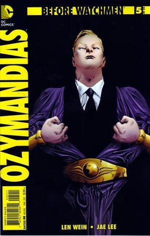 BEFORE WATCHMEN OZYMANDIAS (2012) #5