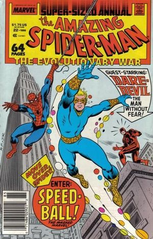 AMAZING SPIDER-MAN ANNUAL (1963 1ST SERIES) #22