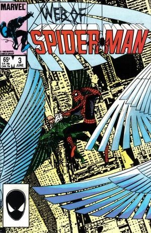 WEB OF SPIDER-MAN (1985 1ST SERIES) #3