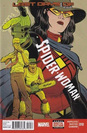 SPIDER-WOMAN (2014 5TH SERIES) #10
