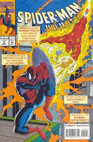 SPIDER-MAN UNLIMITED (1993 1ST SERIES) #5
