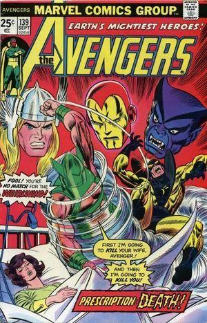 AVENGERS (1963 1ST SERIES) #139