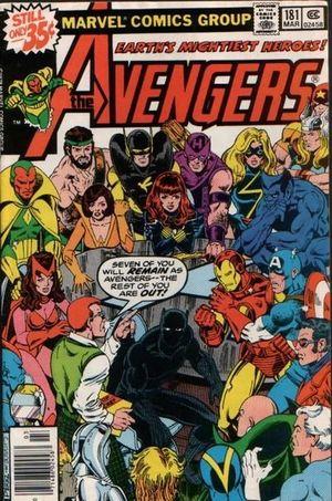 AVENGERS (1963 1ST SERIES) #181