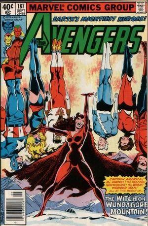 AVENGERS (1963 1ST SERIES) #187