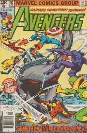 AVENGERS (1963 1ST SERIES) #190