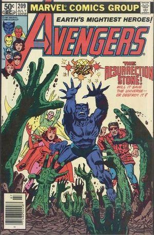 AVENGERS (1963 1ST SERIES) #209