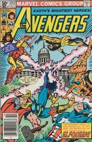 AVENGERS (1963 1ST SERIES) #212