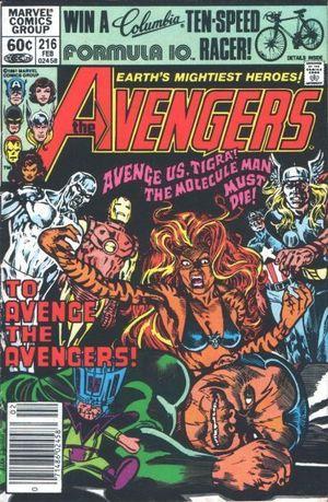 AVENGERS (1963 1ST SERIES) #216