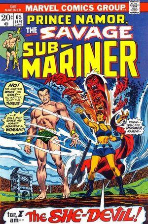 SUB-MARINER (1968 1ST SERIES) ANNUAL #65