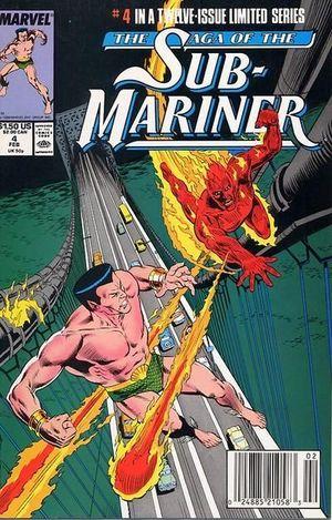 SAGA OF THE SUB-MARINER (1988) #4