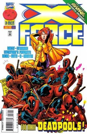 X-FORCE (1991 1ST SERIES) #56